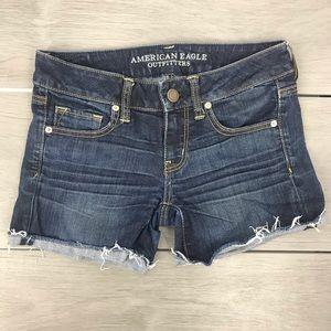 American eagle cutoff shorts stretch size4